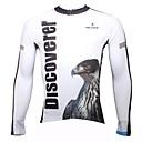 PALADIN® Biciklistička majica Muškarci Dugi rukav Bicikl Prozračnost / Quick dry / Ultraviolet Resistant Majice 100% poliesterSa