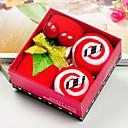 Božićni dar mikrovlakana šarene kolače ručnik set