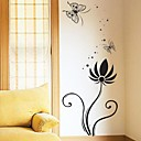 samolepky na zeď Lepicí obrazy na stěnu, květina plakát nástěnná domova pvc samolepky na zeď