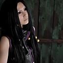 Cosplay Wigs Hunter x Hunter Cosplay Crna Long Anime Cosplay Wigs 100 CM Otporna na toplinu vlakna Female