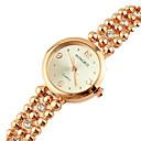Soha růžové zlato diamant korálek náramek hodinky pro ženy
