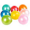 パールカラーのラウンドバルーン(色を選択することができ、100個)