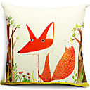 lisica i stabla pamuka / lana dekorativne jastučnicu