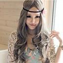 Lolita perika Sweet Lolita Princeza Dug / Kovrčav Sive boje Lolita Perika 80 CM Cosplay Wigs Jednobojni Wig Za Žene
