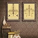 E-home® pruži platnu si luster ukras slikarstvo set 2
