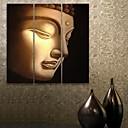 E-home® pruži platnu si Buddhe ukrasne slikarstvo set 3