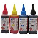 bloom®馬力のための染料インク100ミリリットル互換詰め替えインクHP専用のCISSのためのすべてのインクジェットプリンタ(4色1ロット)