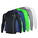 Arsuxeo® Biciklistička majica Muškarci Dugi rukav BiciklProzračnost / Quick dry / Anatomski dizajn / Antistaticna / Kompresija / Lagani