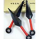 Weapon Inspirirana Naruto Cosplay Anime Cosplay Pribor Weapon Crna Engineering Plastic Male / Female