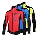 Arsuxeo® Cyklo bunda Pánské Dlouhé rukávy Jezdit na koleProdyšné / Zahřívací / Větruvzdorné / Anatomický design / Zateplená podšívka /