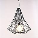 Luster, 1 svjetlo, jednostavan Suvremeni umjetnički nehrđajućeg čelika galvaniziranje MS-86287-1