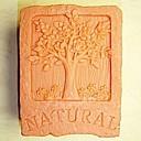自然の木の形のフォンダンケーキチョコレートシリコーン型ケーキデコレーションツール、l7cm * w5.3cm * h3cm