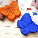 蝶の形のケーキ型の氷ゼリーチョコレートモールド、シリコーン13×16.3×2.2センチメートル(5.1×6.4×0.9インチ)