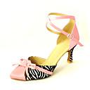 Chaussures de danse (Rose) - Personnalisable Satin - Moderne