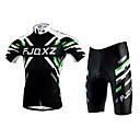 FJQXZ® Biciklistička majica s kratkim hlačama Uniseks Kratki rukav Bicikl Prozračnost / Quick dry / Ultraviolet ResistantBiciklistička