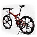 Horské kolo Cyklistika 21 Speed 26 palců/700CC 50mm Unisex Dospělý Dvojitá kotoučová brzda Springer vidlice Celkové odpružení Běžný