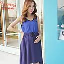 letní sukně šifon nový šití pletených volný čas letních šatech těhotné ženy