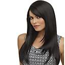 bez krytky mix barev Dlouhá vysoce kvalitní přírodní rovné vlasy syntetické paruka s bočním třesku