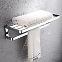 HPB ™ suvremena krom finiširanje brass zid ručnike