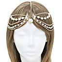 shixin® modni kićanka Pearl aluminijski headbands (1 kom)