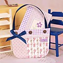 非個人化 サイド折り 結婚式の招待状 サンキューカード-1 ピース/セット アーティスティック / 花のスタイル カード用紙 リボン / 花