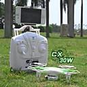 Dron Cheerson cx30w 4 Kanala 6 OS 2.4G S kamerom RC quadcopter Povratak S Jednom Tipkom / Izravna Kontrola Bijela