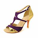 Može se prilagoditi - Ženske - Plesne cipele - Latin / Balska sala - Satin ljubičasta boja