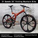 "Rockefeller ™ 21 brzina 26 ""sklopivi mountain bike full ovjes aluminijske legure vilica Shimano vozne osobine soft-tail frame"