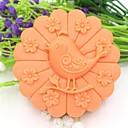 Ptica životinja cvijet u obliku Fondant kolač čokoladna torta silikonska kalupa ukras alati, l10.1cm * w10.1cm * h3.9cm