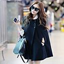 Leto Women's Cute Tweed Loose Fit Coat