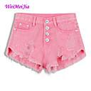 Micro-elastične - Kratke hlače - Ženske hlače  (Traper)