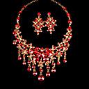 Šperky Set Dámské Výročí / Svatba / Zásnuby / Narozeniny / Dárek / Zvláštní příležitost Sady šperků Slitina imitace drahokamuNáhrdelníky