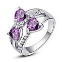 Prstenje Moda Party Jewelry Legura Žene Prstenje sa stavom 1pc,Univerzalna veličina Srebrna