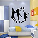 samolepky na zeď na stěnu, Styl hry basketbal vodní removalpvc samolepky na zeď