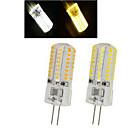6W G4 LED bodovky 64LED SMD 3014 450-600 lm Teplá bílá / Chladná bílá AC 220-240 V 1 ks