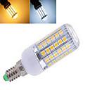 12W E14 LEDコーン型電球 T 56LED SMD 5050 850 lm 温白色 / クールホワイト 交流220から240 V 1個