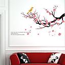 samolepky na zeď na stěnu, švestka květ PVC samolepky na zeď