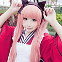 Cosplay Paruky Cosplay Cosplay Růžová Extra dlouhý Anime Cosplay Paruky 120 CM Horkuvzdorné vlákno Dámský