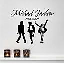 nástěnné samolepky na stěnu, MICHAEL JACKSON kapela PVC samolepky na zeď