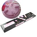 DIY alat za prikaz pretvaraju ružičaste spužva mini-nail art i operativni stol
