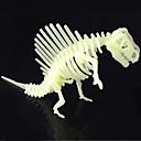 Puzzle 3D puzzle Stavební bloky DIY hračky Dinosaurus ABS Křišťálový Modelování