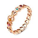 Prstenje Moda Vjenčanje / Party Jewelry Legura Žene Prstenje sa stavom 1pc,Univerzalna veličina Rose Gold