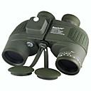 Boshile® 10x 50 mm 双眼鏡 BAK4 防水 / 屋根のプリズム / ナイトビジョン 132m/1000m センターフォーカス 全面マルチコーティング レンジファインダー / ナイトビジョン / 防水 グリーン