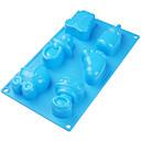 Igračke za bebe platine silikon torta kalup