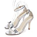 Ženske cipele - Sandale - Ured i karijera / Formalne prilike / Zabava i večer - Šljokice - Stiletto potpetica - Štikle / Udobne cipele -