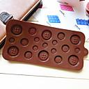 Gumb obliku bombona čokolade kolač za pečenje kalup kalup (slučajni boja)