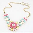 Novi dolazak fashional vruće prodaja popularni dragulj cvijet ogrlicu