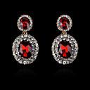 Naušnica Sitne naušnice / Viseće naušnice Jewelry 2pcs Imitacija bisera / Umjetno drago kamenje / Pozlaćeni Žene Srebrna