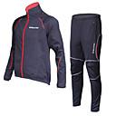 REALTOO® Biciklistička jakna s hlačama Žene / Muškarci / Uniseks Dugi rukav BiciklVodootpornost / Prozračnost / Ugrijati /