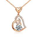 Ogrlice Ogrlice s privjeskom Jewelry Party Birthstones Legura Srebrna 1pc Poklon